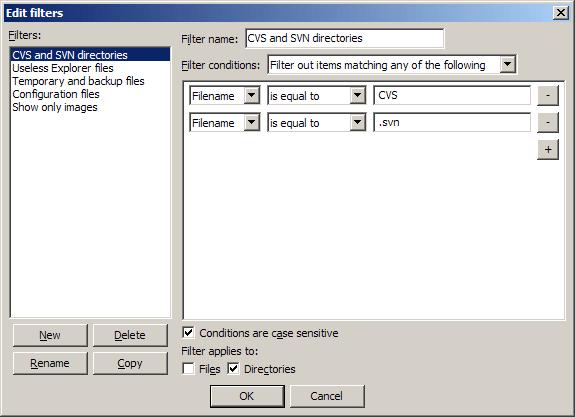 FileZilla - Screenshots